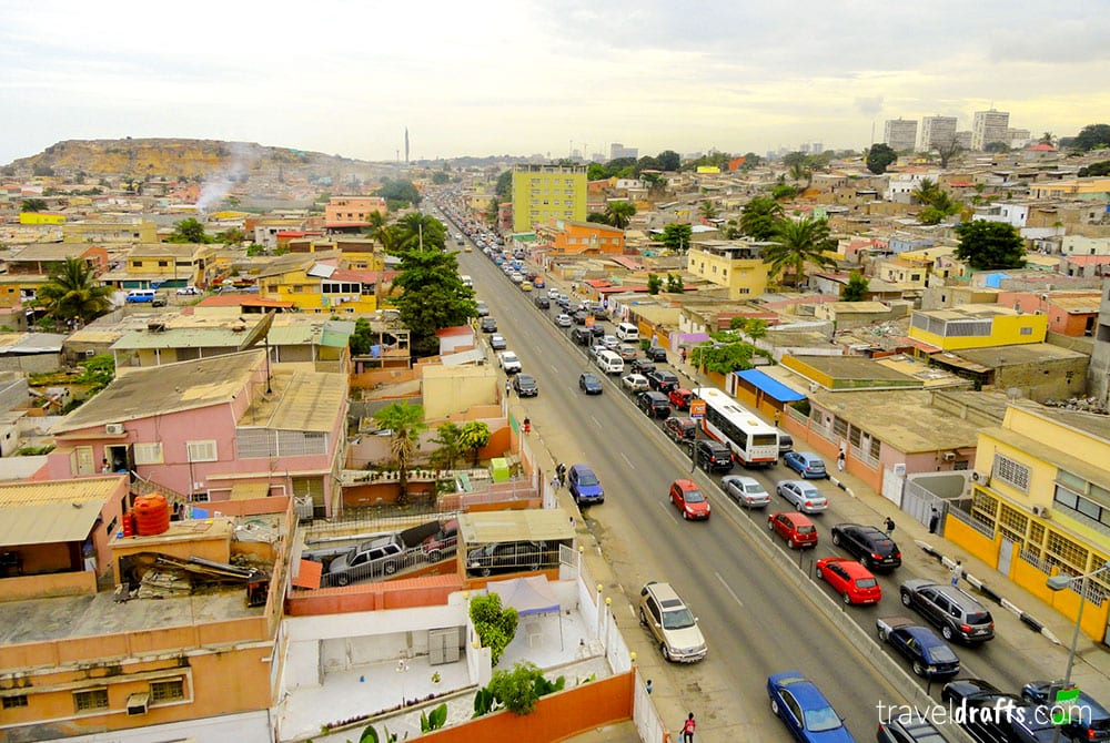 Things to be aware when moving to Angola - Traffic jam in Luanda