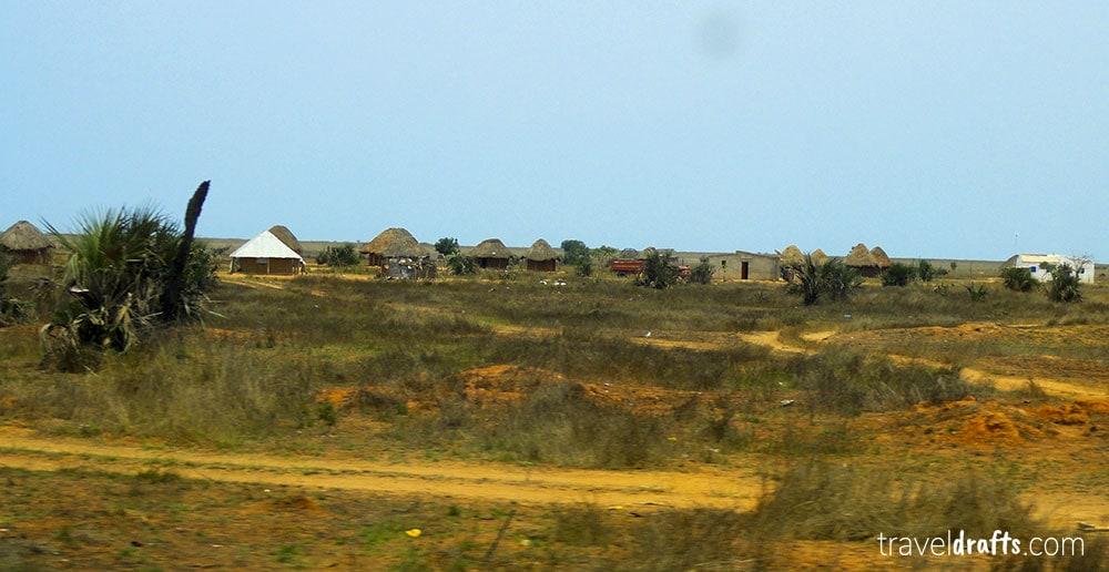 De Luanda a Benguela de Carro