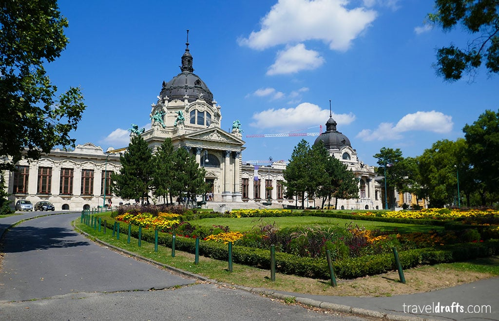 theszechenyi thermal baths are one of the things to do in Budapest in 3 days