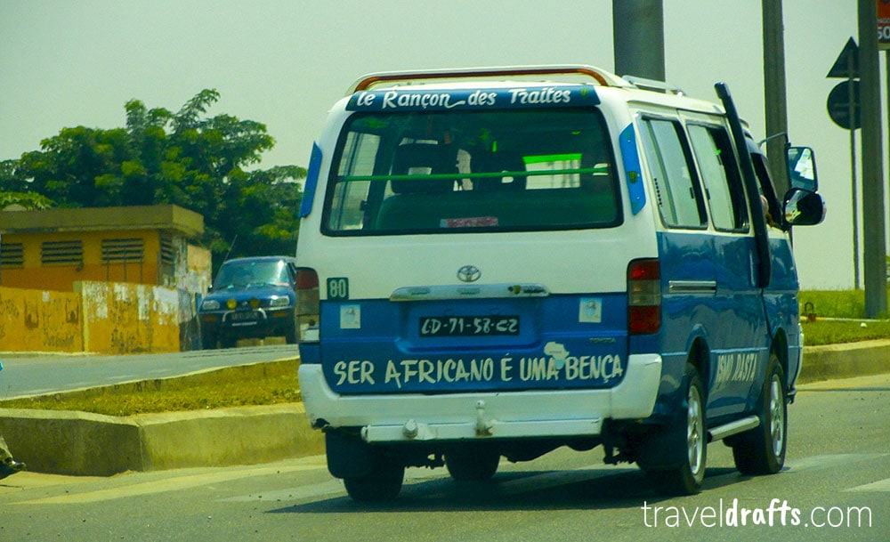 Things to know before moving to Angola - Candongueiros - vans in Luanda