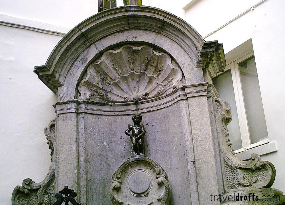 Well known landmarks in Belgium