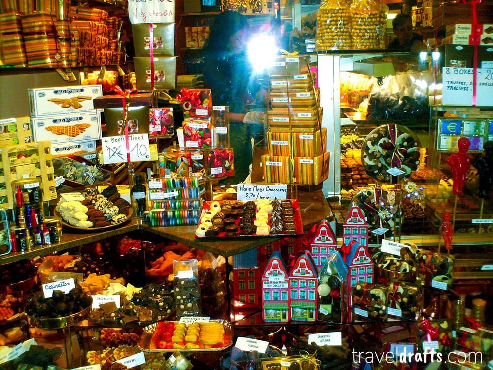 what to eat in Belgium - chocolates