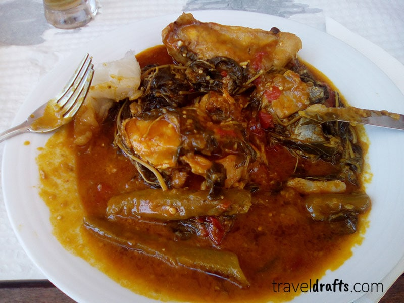 traditional Angolan dishes