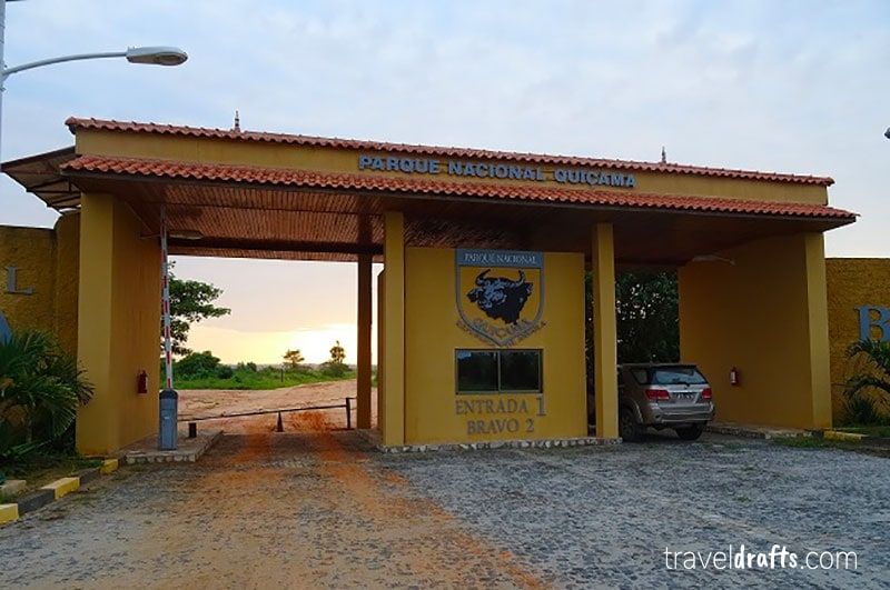 enterance of Kissama National Park