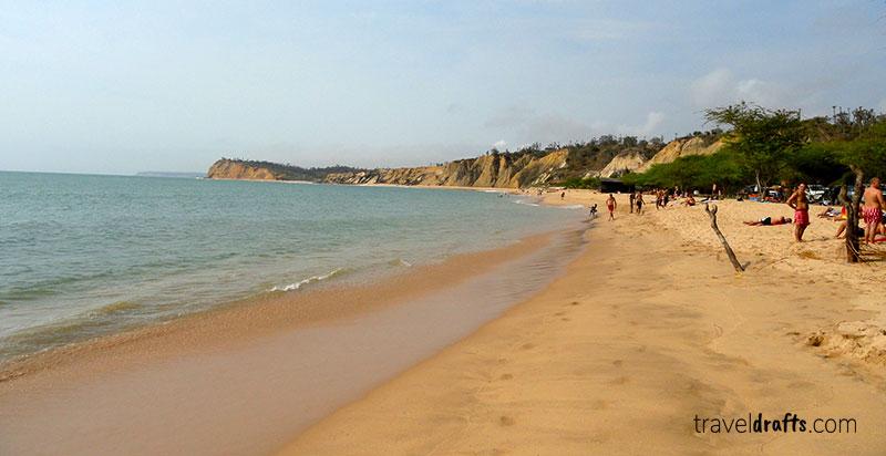 Sangano - uma das melhores praias de Angola