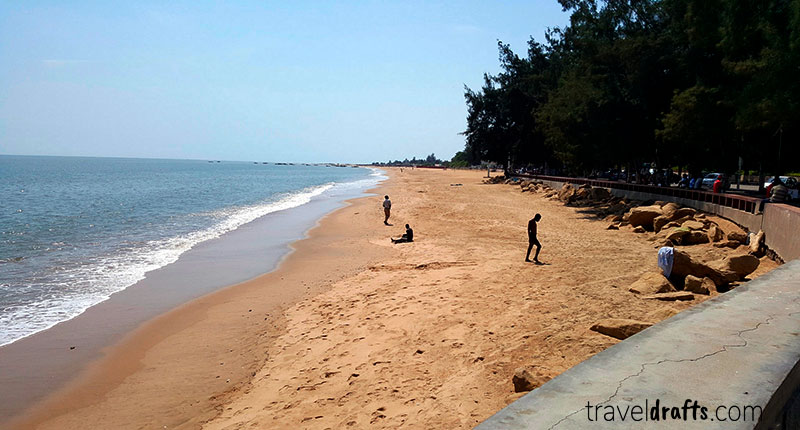 Coisas para fazer em Angola - Ir as restinga