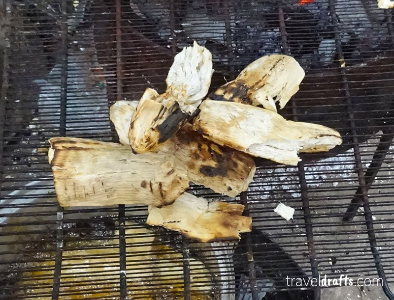 Bombó Assado - Comida típica angolana