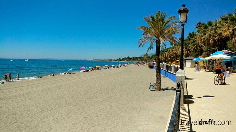 Praia em Marbella