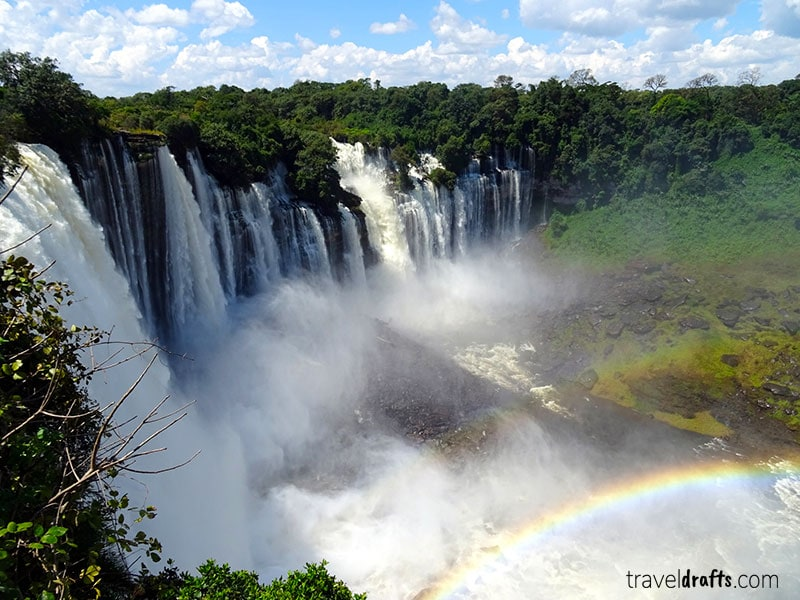 things to know when going to Angola - Kalandula waterfall