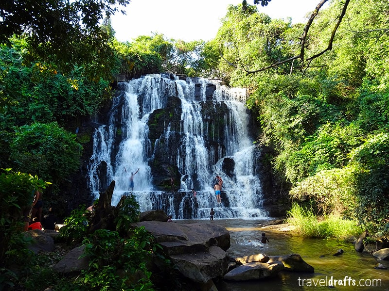 Musseleje falls - a lesser known tourist attraction in Malanje