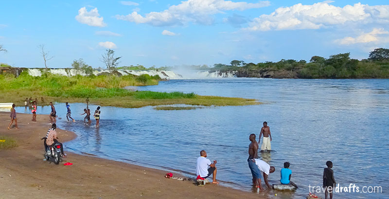 how to go to Rapids of River Kwanza