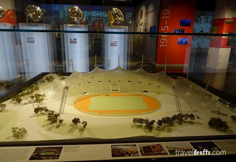 Como é visitar o museu do Bayern Munich