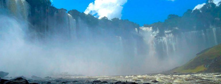 Waterfalls of Kalandula Angola