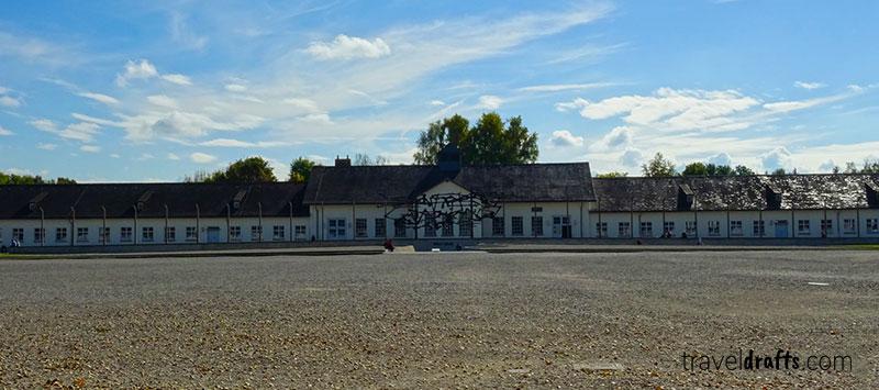 Visiting Dachau Concentration Camp, Munich