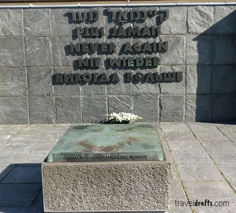 Memorial no campo de concentração de Dachau