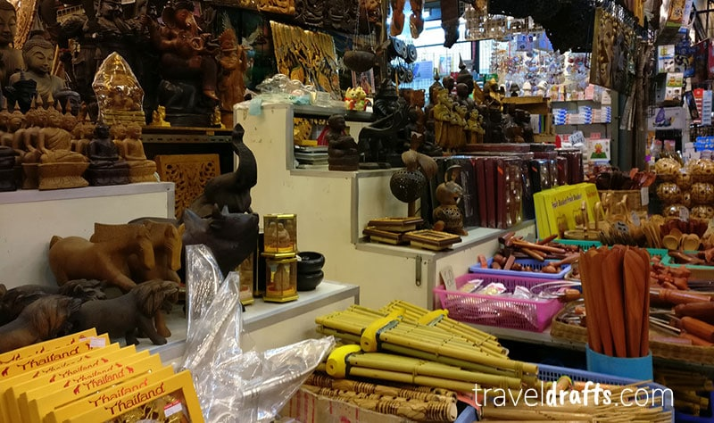 Chatuchak Market Bangkok, one of the things thailand is famous for