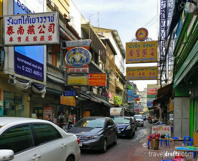 Chinatown Bangkok in one of the things thailand if known for