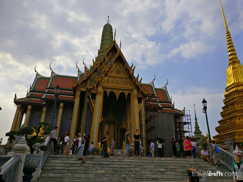 Grand Palace, one of the famous landmarks in Thailand