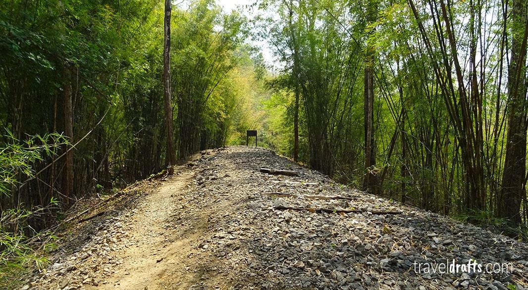 Hellfire Pass Trail - Kanchanaburi itinerary