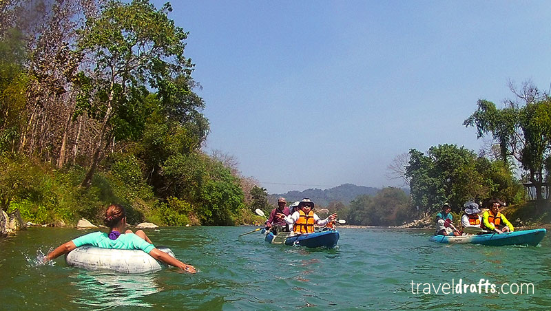 things to know before going to Laos - Tubing in Vang Vieng