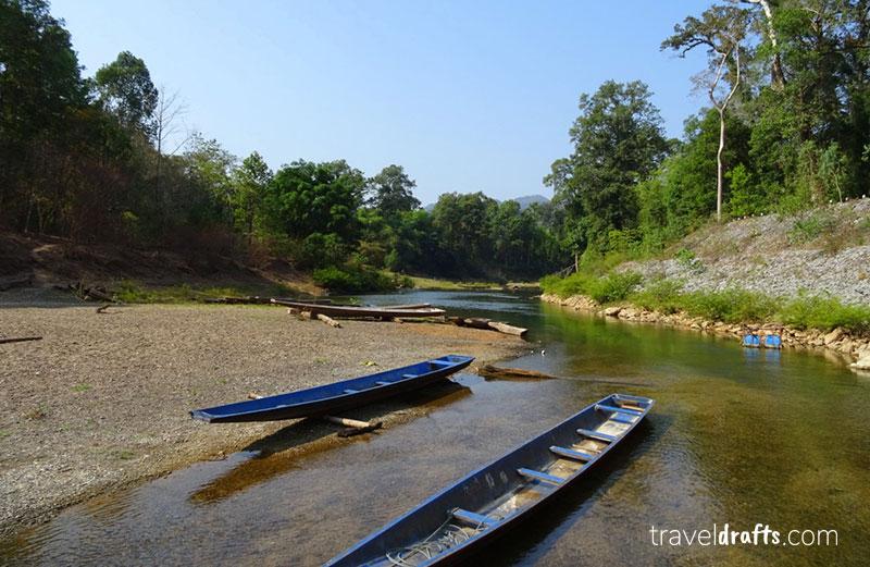 A Beleza natural do Laos captada perto de Kong Lor