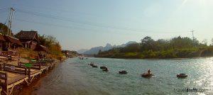 Tubing in Vang Vieng