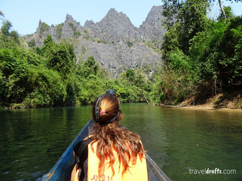 Best Laos Pictures - Tour through Kong Lor Caves