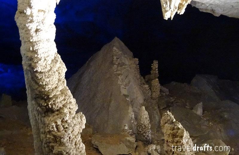 Visiting Kong Lor Caves