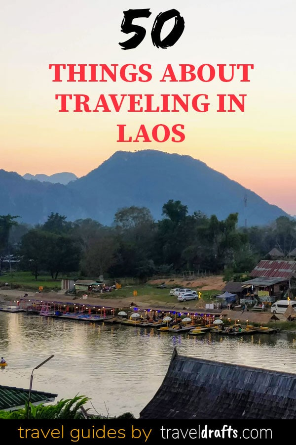 50 things about traveling in Laos