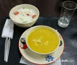 Massaman Curry & Chicken in coconut milk
