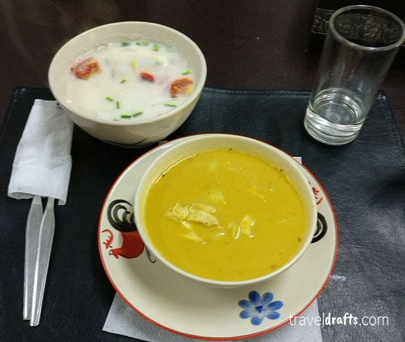 aula de culinária na Tailândia