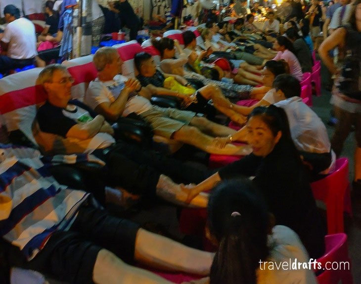 What is thailand famous for? Massages