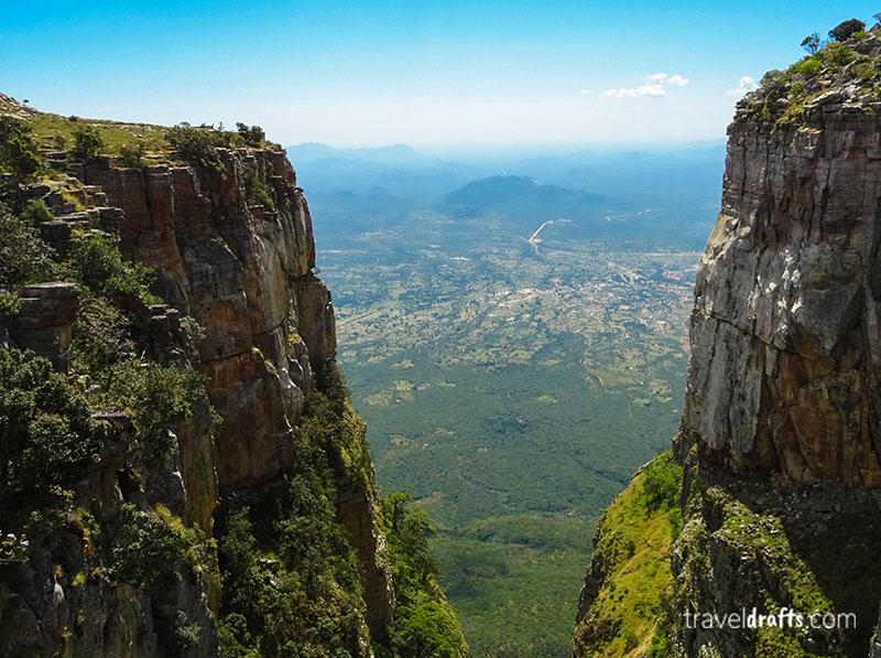 Angola travel - Tundavala Gap