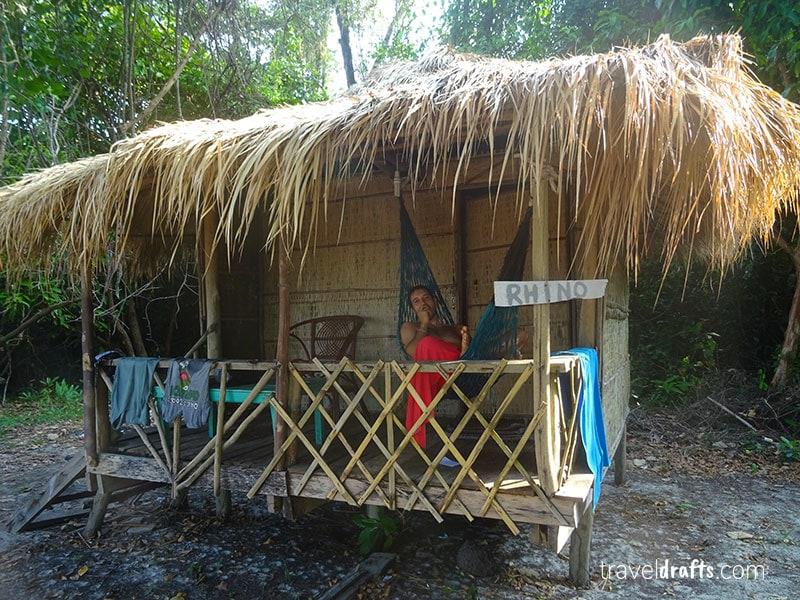 Nossa cabana em Koh Ta Kiev