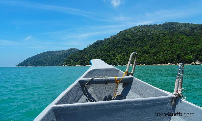 Penang National Park viagem de barco
