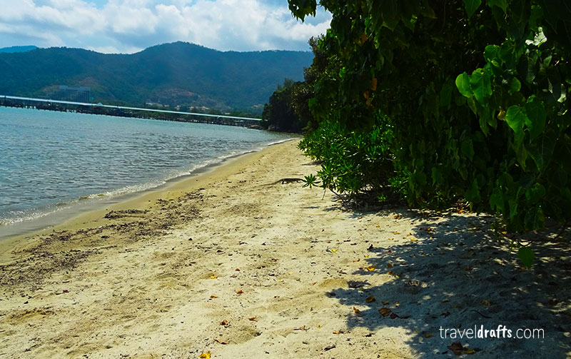 Parque nacional de Penang trilhos