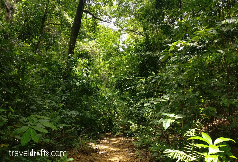 Hiking in the Big Perhentian Island - guide