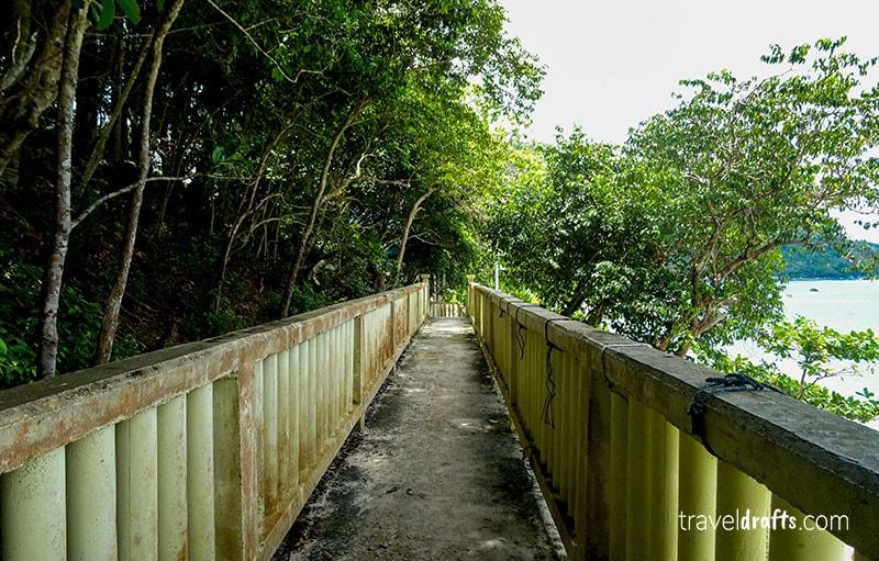 Hiking in the Big Perhentian Island