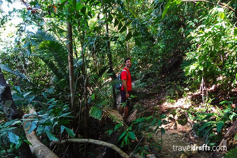 Penang national park caminhada