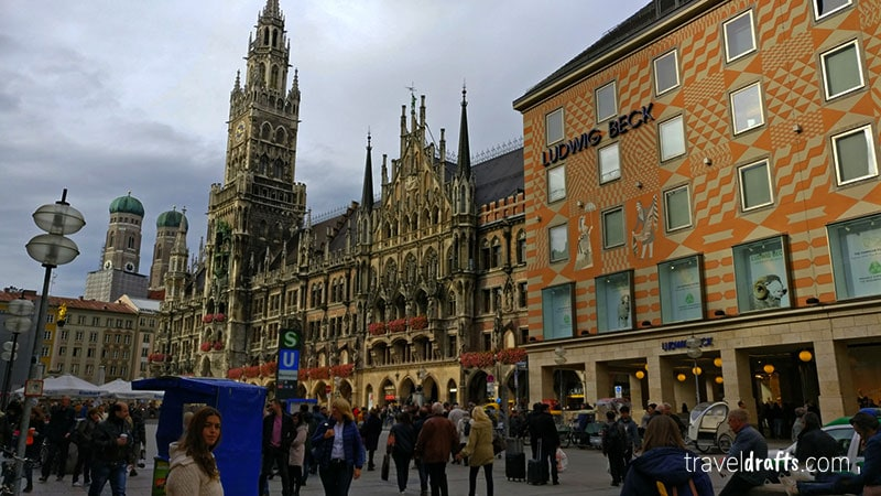 Munich free walking tour - one of things to do in Munich in 2 days