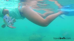 Snorkeling in the Big Perhentian Island