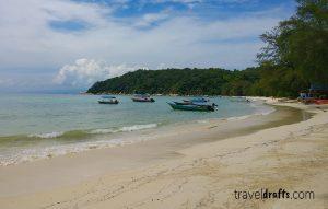 The beaches of the Big Perhentian Island