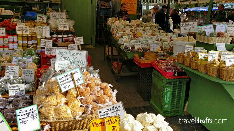 What to do in Munich during 2 days? Go to the farmers market