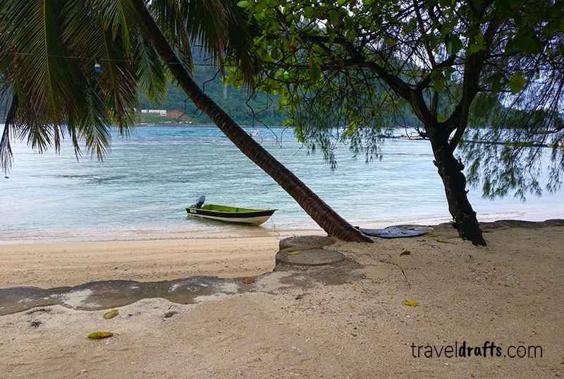 Best beaches of the Big Perhentian Island