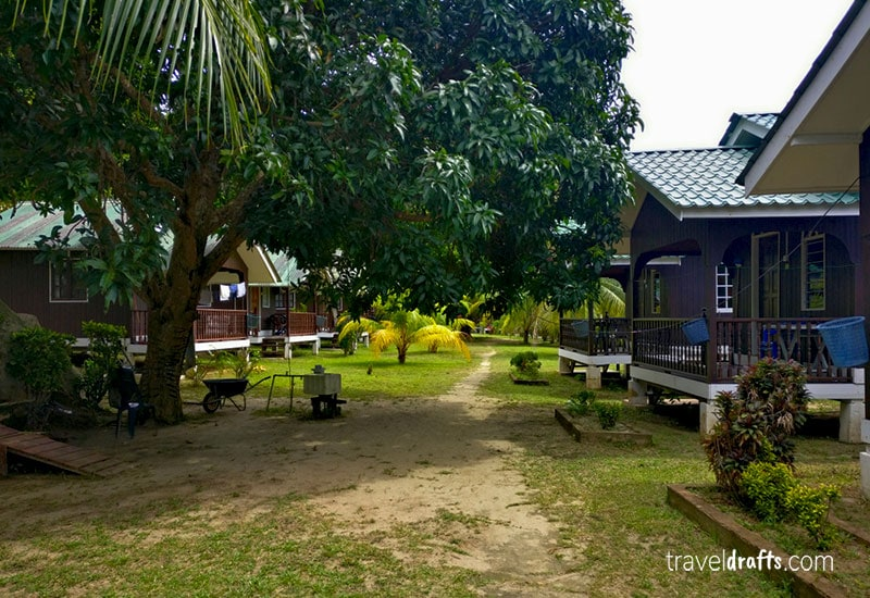 Where to stay in the Big Perhentian Island in our malaysia trip