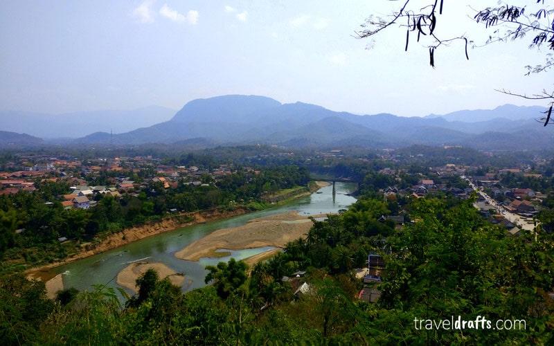 What to see in luang prabang in days? Mount Phousi