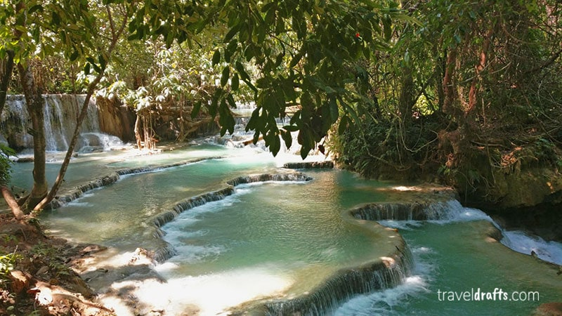 Most Beautifull atractions of Luang Prabang Laos