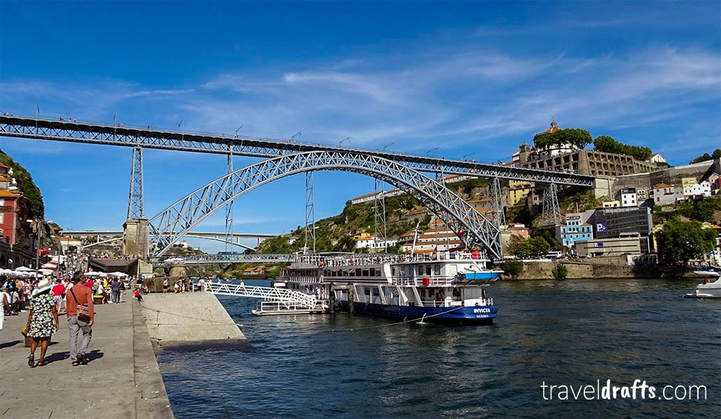 Tourist attractions and landmarks in Portugal and Spain