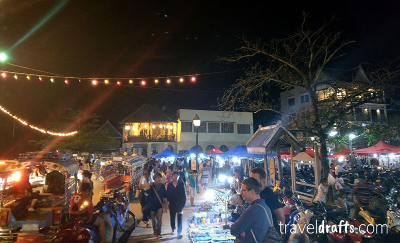 Traveling to Laos - Laos night markets