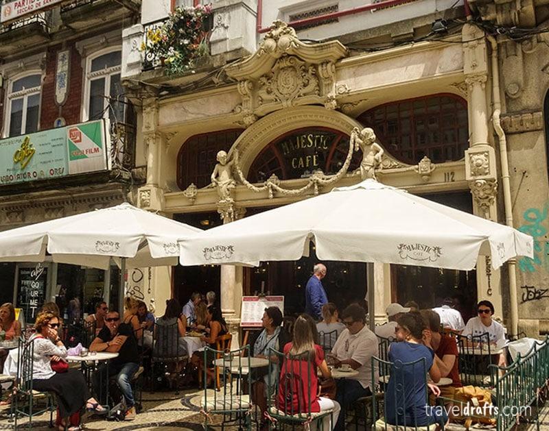 Visit Cafe Majestic Porto Portugal